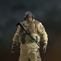 Glaz armed with <a href=