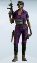 Caveira Widow Uniform