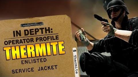 Rainbow Six Siege - Operator Profile THERMITE-1