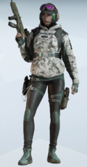 Ela Arctic Moss Uniform