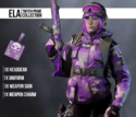 Purple Highlight Uniform