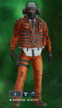 Bandit Charged Convict Uniform