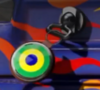 Brazilian Roundel Charm