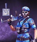 Blue Highlight Uniform