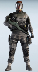 Finka Volatile Gray Uniform