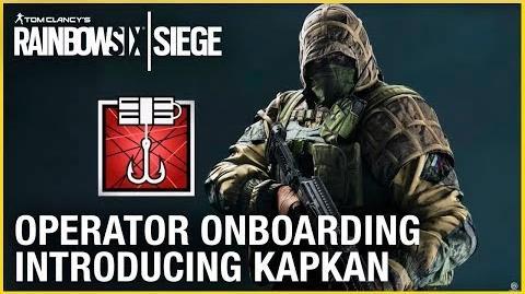 Rainbow Six Siege Operator Onboarding – Introducing Kapkan Ubisoft NA