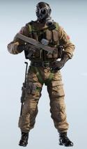 Smoke SAS Chemical Warfare Uniform