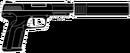 5.7 USG Suppressed HUD Icon R6S