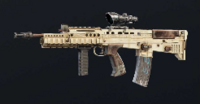 Ancient Marble L85A2 Skin
