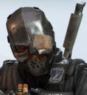 Capitao Iron Mask Headgear