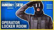 Rainbow Six Siege Operator Locker Room Compilation Ubisoft NA
