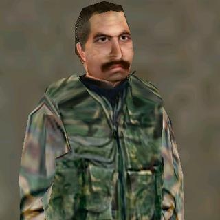 Guerilla's leader