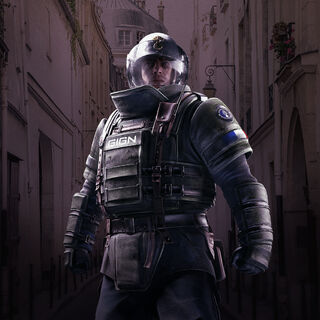 Rook in the Gendarmerie Elite Set