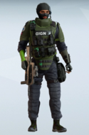 Twitch GIGN Riot Gear Uniform