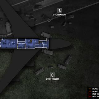 Presidential Plane - Basement