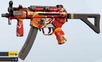 Red Asphalt MP5K Skin