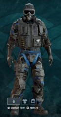 Mute Nighthaven Prototype Uniform