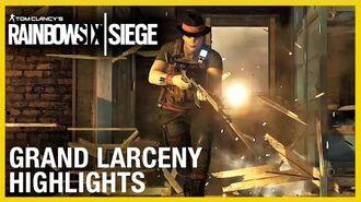 Rainbow Six Siege Grand Larceny Gameplay Ubisoft NA