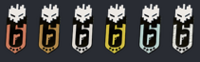 White Noise Ranked Charms