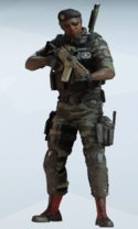 Capitao Obscure Uniform