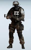 Doc KT Banshee Camo Uniform