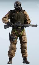 Thatcher S.A.S. Chemical Warfare Uniform