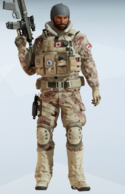 Buck Burning Silt Uniform