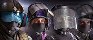 107.Jäger, IQ, Blitz and Bandit in the BPM Headgear Bundle