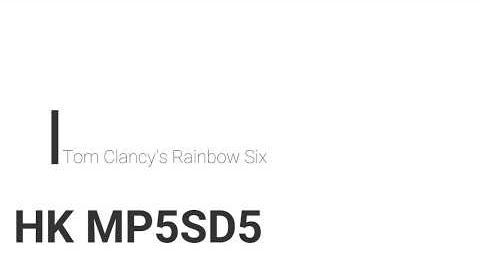 MP5SD/R6