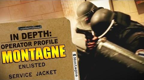 Rainbow Six Siege - Operator Profile MONTAGNE