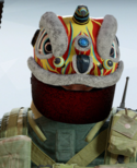 Tachanka Lion Dance Headgear
