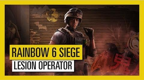 Tom Clancy's Rainbow Six Siege - Blood Orchid Lesion Operator