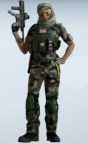 Valkyrie Amazon Jungle Uniform