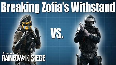 How to break Zofia & Self-Res comparison- Rainbow Six - Siege