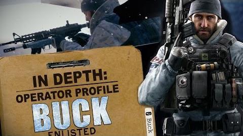 Rainbow Six Siege - Operator Profile BUCK
