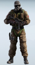 SAS Chemical Warfare Mute Uniform
