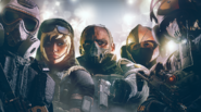 100.Mute, Valkyrie, Sledge, IQ and Bandit in the Cannes Headgear Bundle
