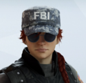 Ash Pixel Navy Headgear