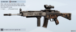 Iron Ship AR33 Skin