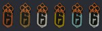 Blood Orchid Ranked Charms