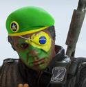 Capitao Brasil Headgear
