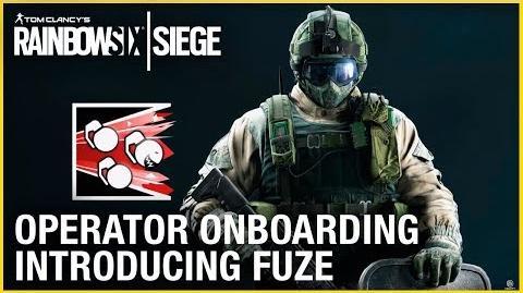 Rainbow Six Siege Operator Onboarding – Introducing Fuze Ubisoft NA