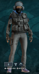 IQ Nighthaven Prototype Uniform