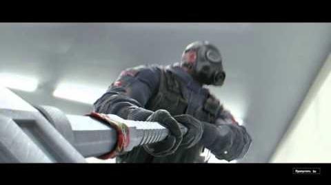 Rainbow Six Siege SLEDGE Trailer (rus)
