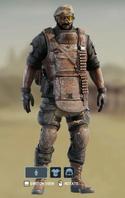 L Heavy Ornate Uniform