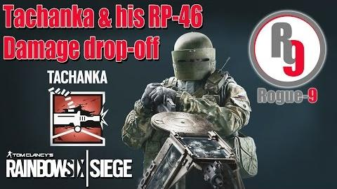 Tachanka's RP-46 Damage Test - Rainbow Six - Siege