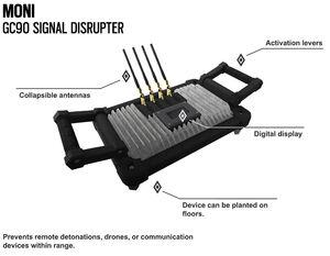 Signal disruptor mute gadget