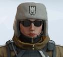 Zofia Arctic Moss Headgear