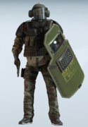 Blitz Splittermuster Uniform