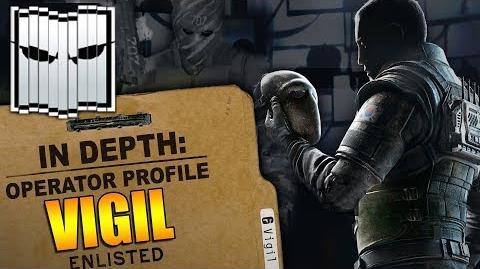 Rainbow Six Siege - Operator Profile VIGIL